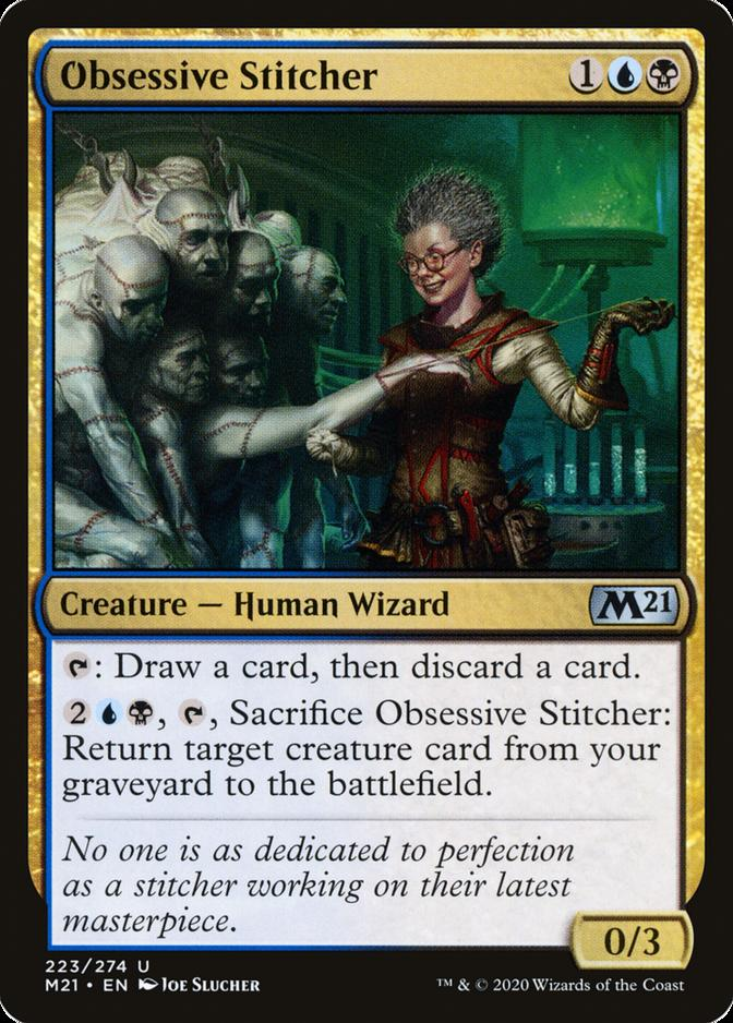 Obsessive Stitcher [M21]