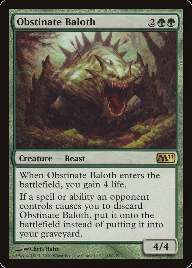 Obstinate Baloth [M11]