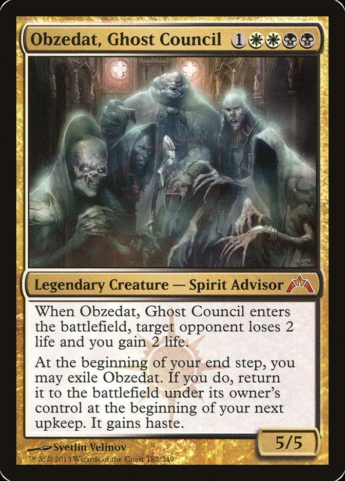 Obzedat, Ghost Council [GTC]