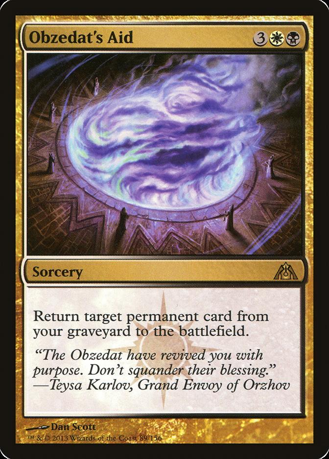 Obzedat's Aid [DGM]