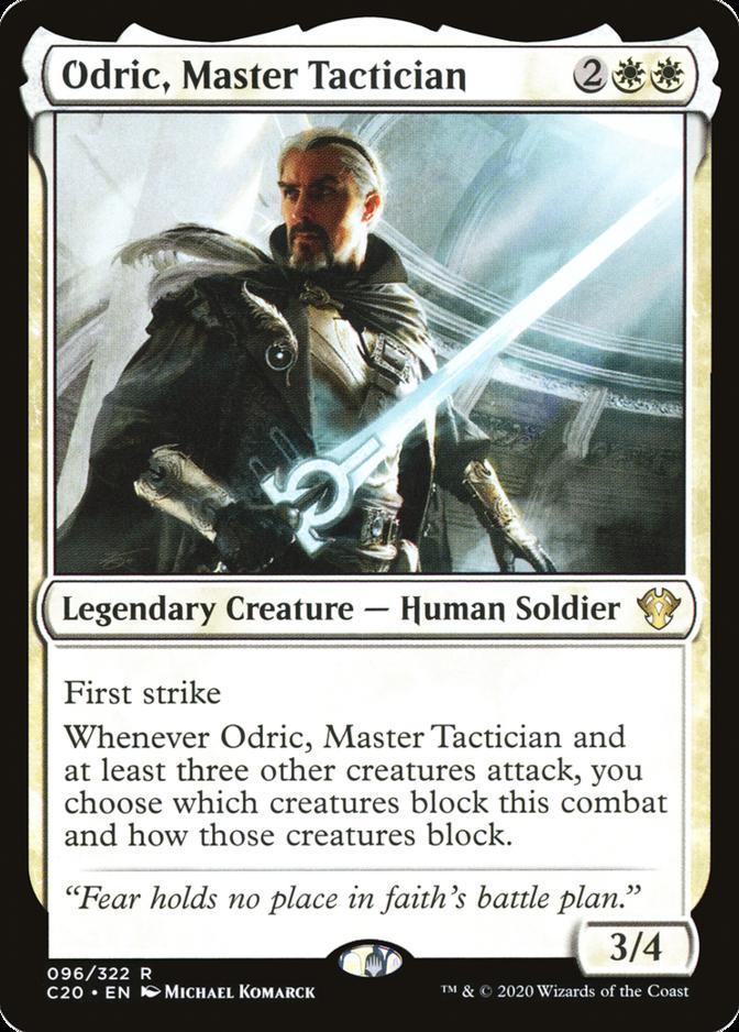 Odric, Master Tactician [C20]