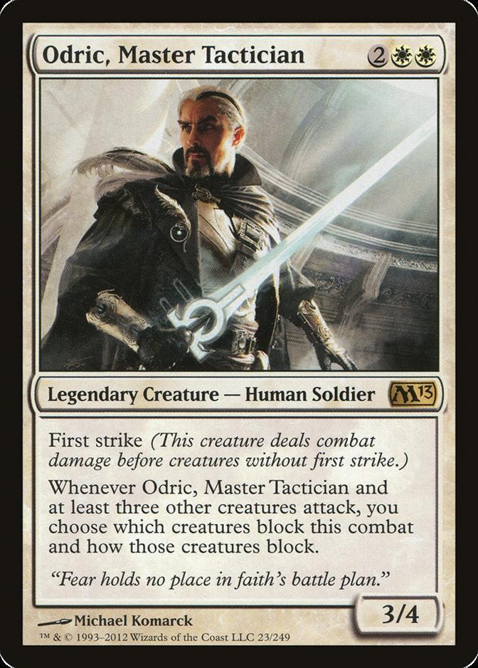 Odric, Master Tactician [M13]