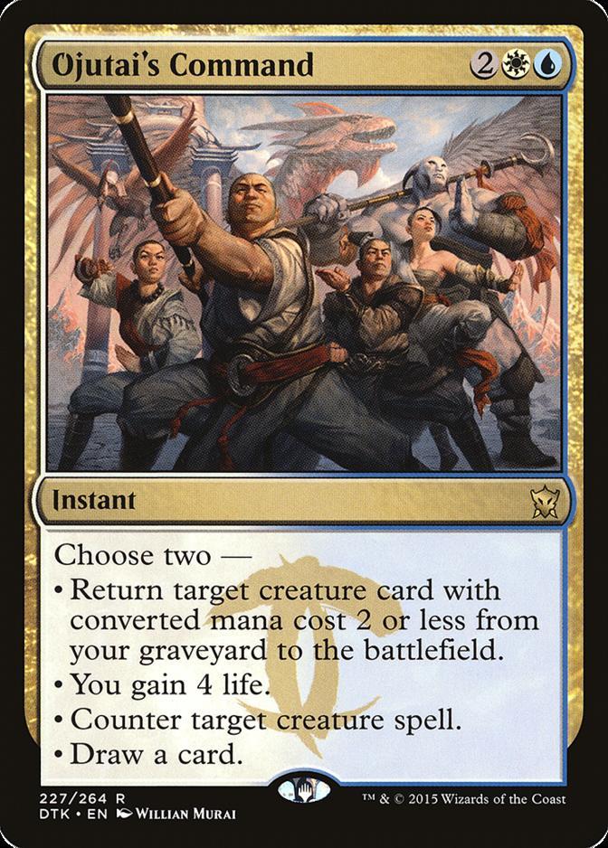 Ojutai's Command [DTK]