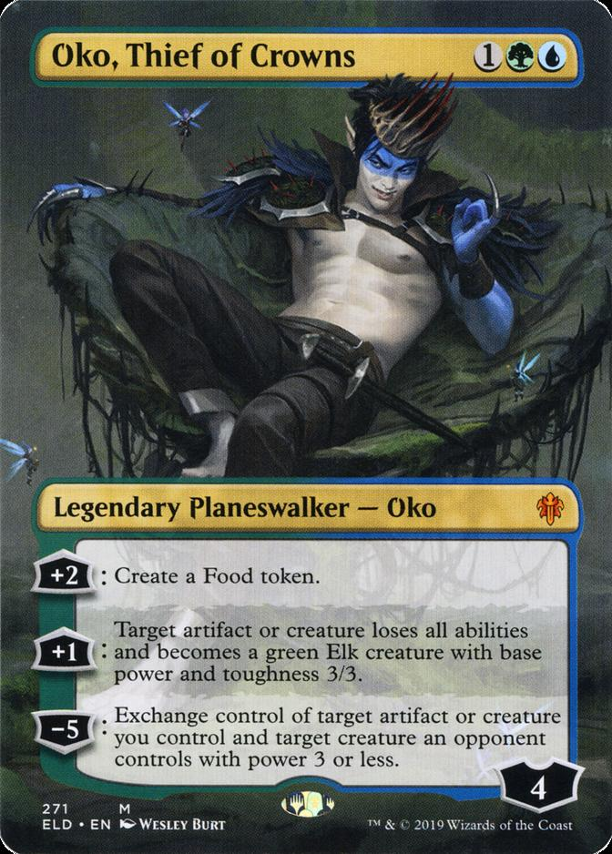 Oko, Thief of Crowns [PELD] (F)