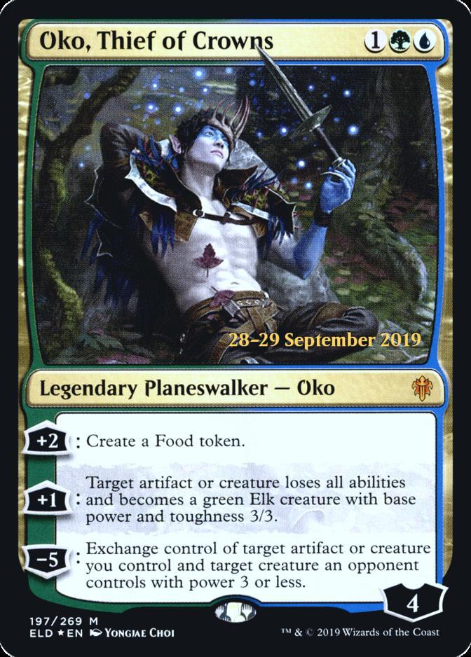 Oko, Thief of Crowns [PRM-PRE] (F)