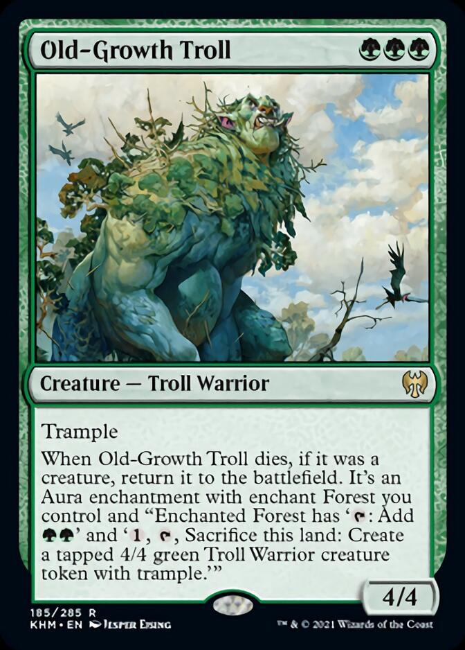 Old-Growth Troll [KHM]