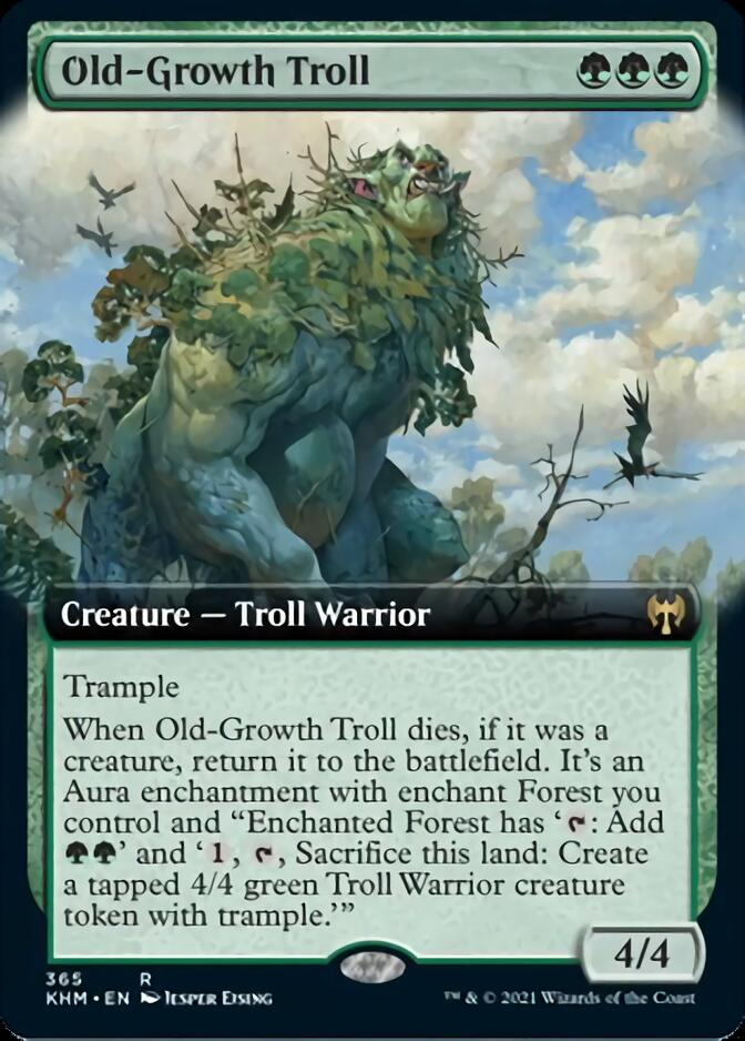 Old-Growth Troll <extended> [KHM]