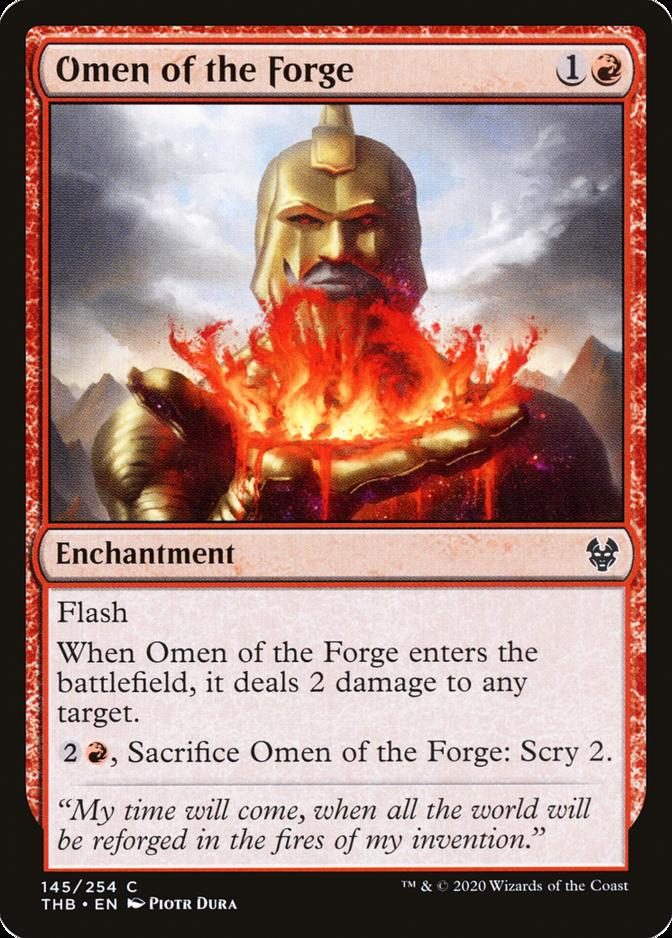 Omen of the Forge [THB] (F)