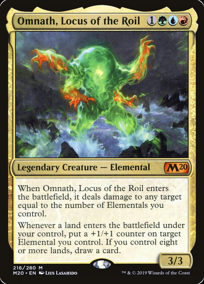 Omnath, Locus of the Roil [M20]