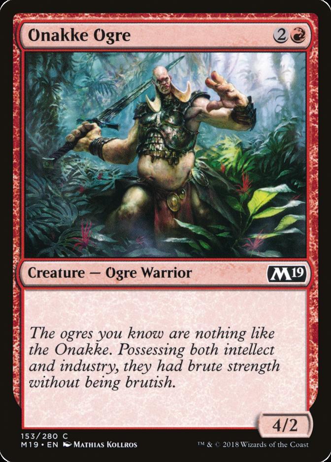 Onakke Ogre [M19]