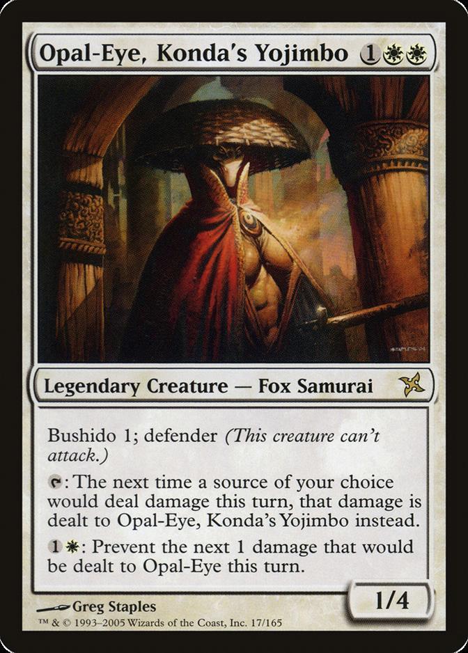 Opal-Eye, Konda's Yojimbo [BOK]