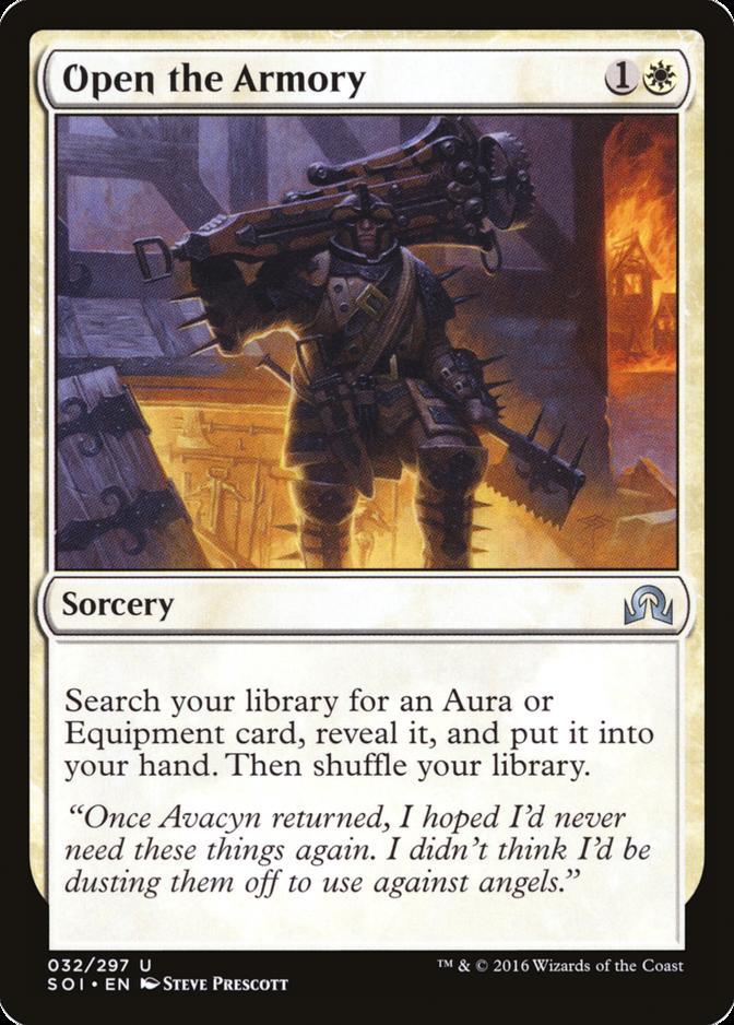 Open the Armory [SOI]