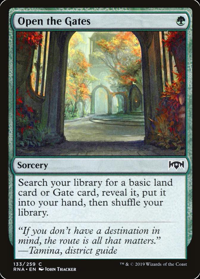 Open the Gates [RNA]