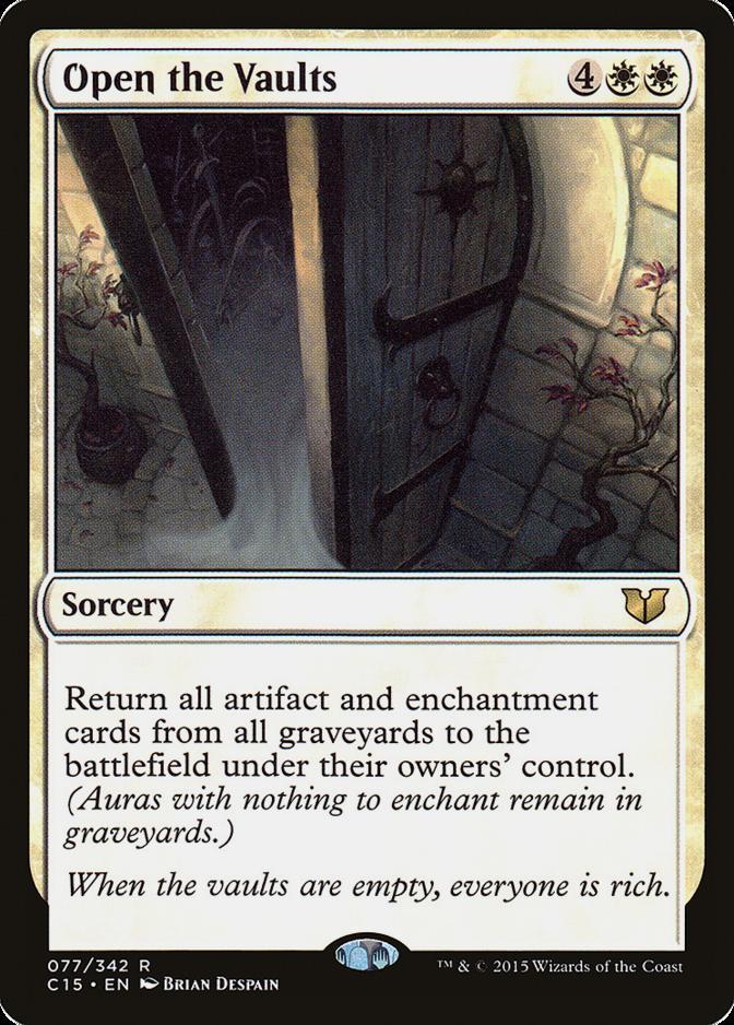 Open the Vaults [C15]