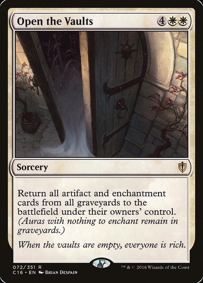 Open the Vaults [C16]
