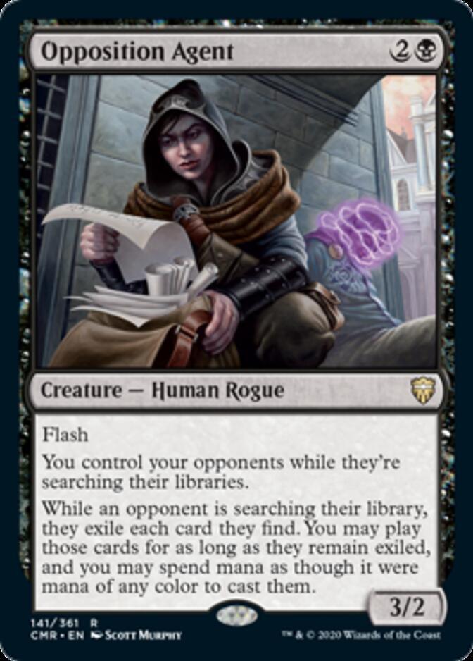 Opposition Agent [CMR]