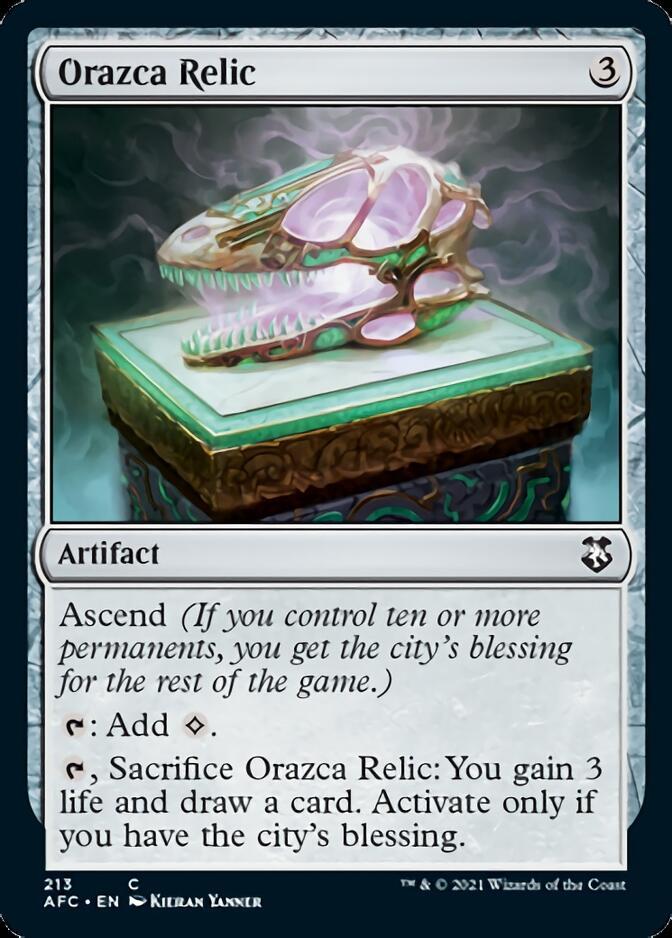 Orazca Relic [AFC]