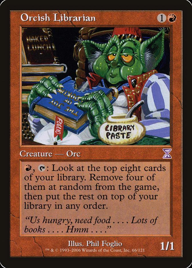 Orcish Librarian [TSB]