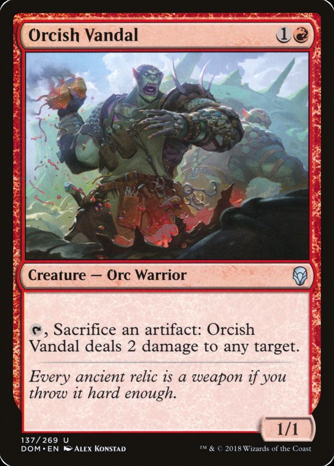 Orcish Vandal [DOM]