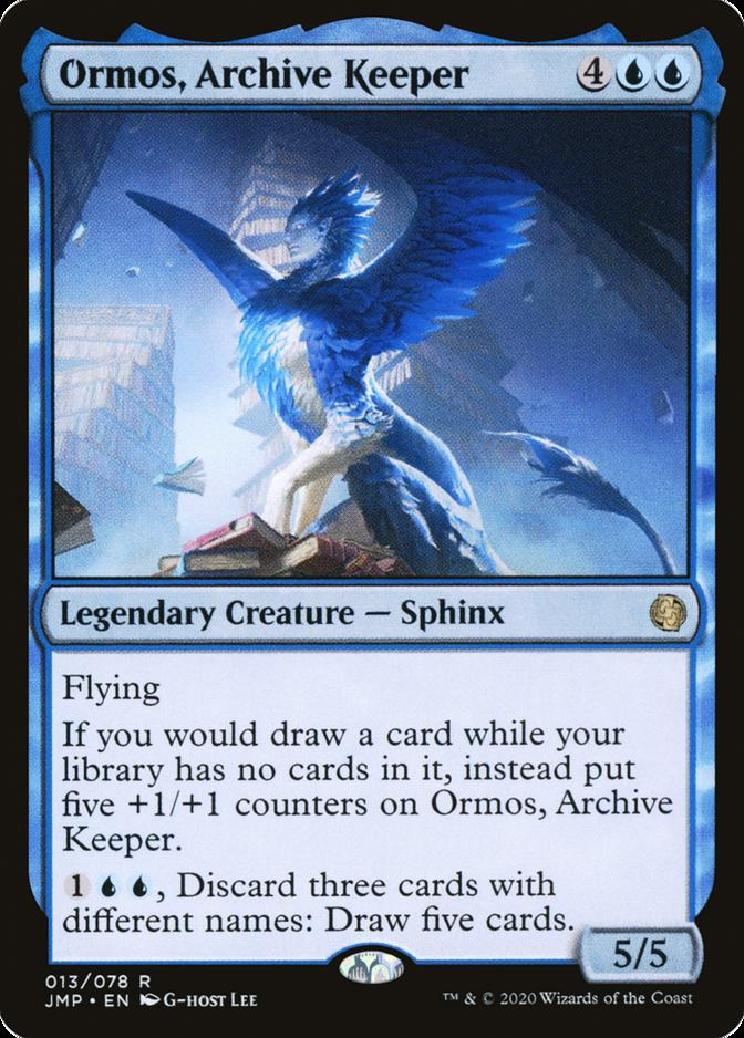 Ormos, Archive Keeper [JMP]