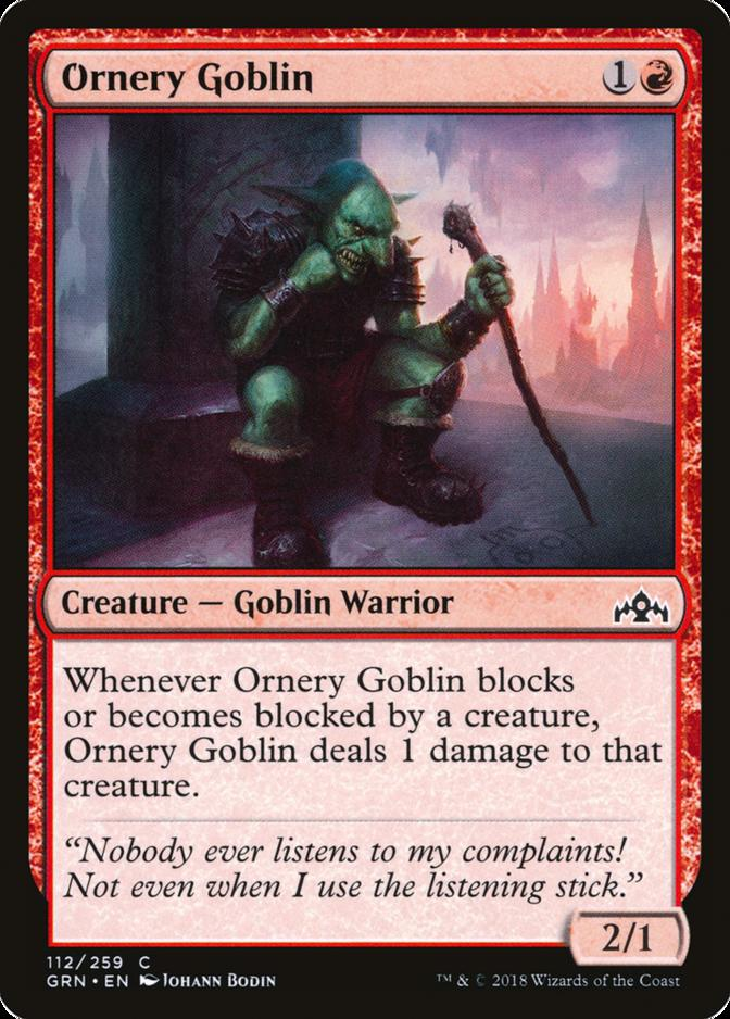 Ornery Goblin [GRN]