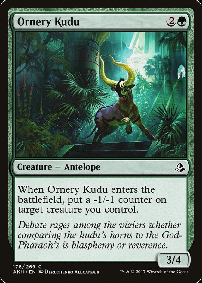 Ornery Kudu [AKH]