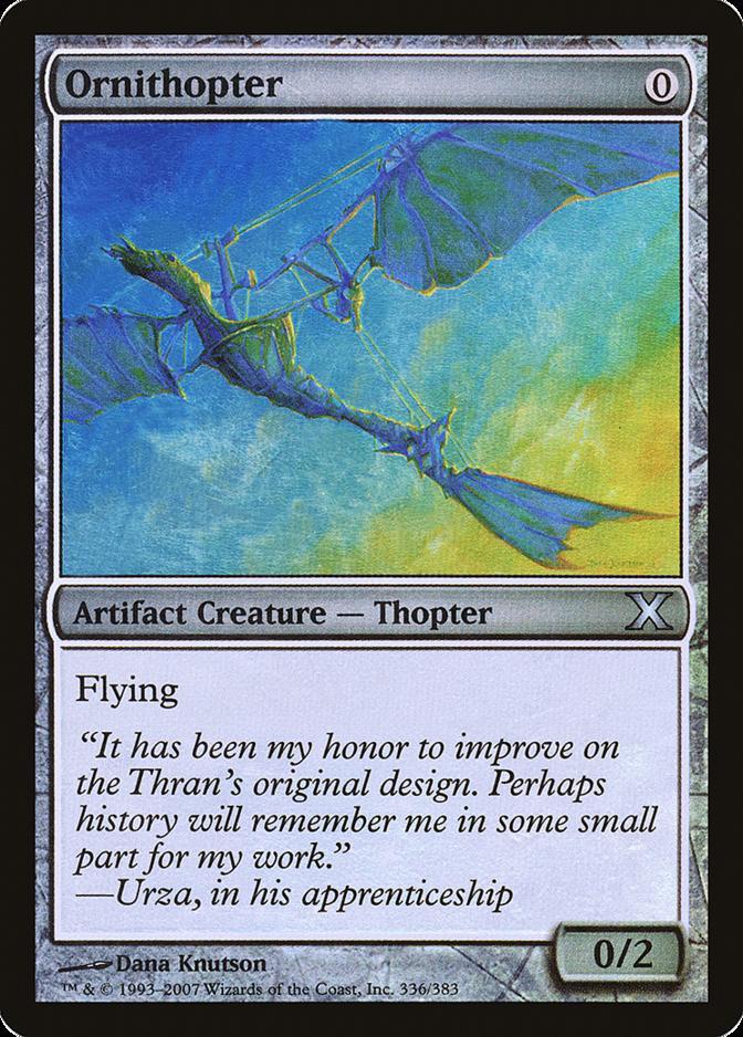 Ornithopter [10E]