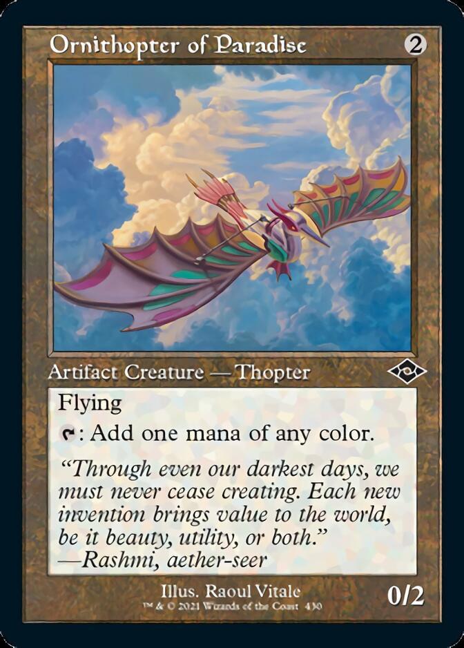 Ornithopter of Paradise <retro> [MH2]