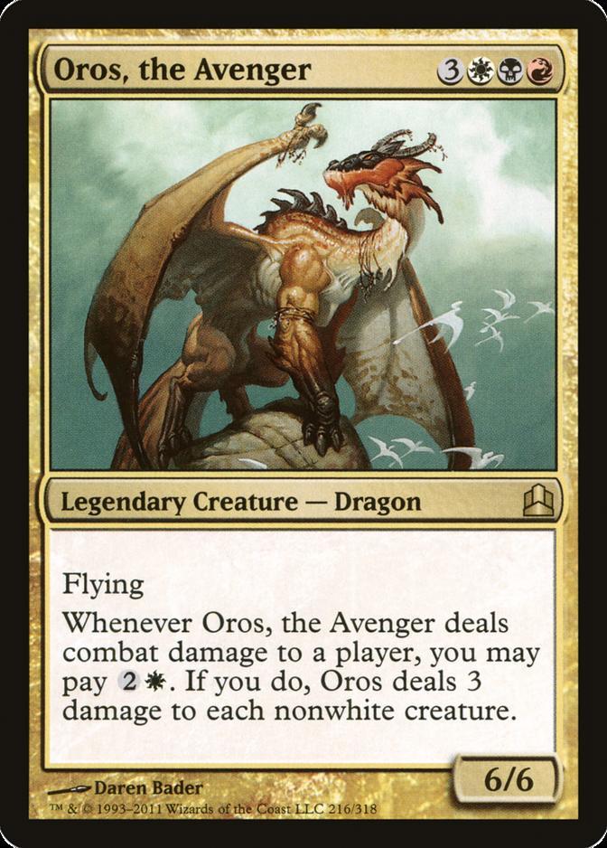 Oros, the Avenger [CMD]
