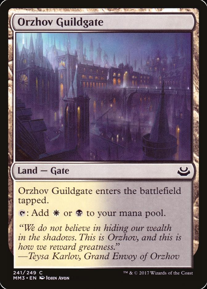 Orzhov Guildgate [MM3]