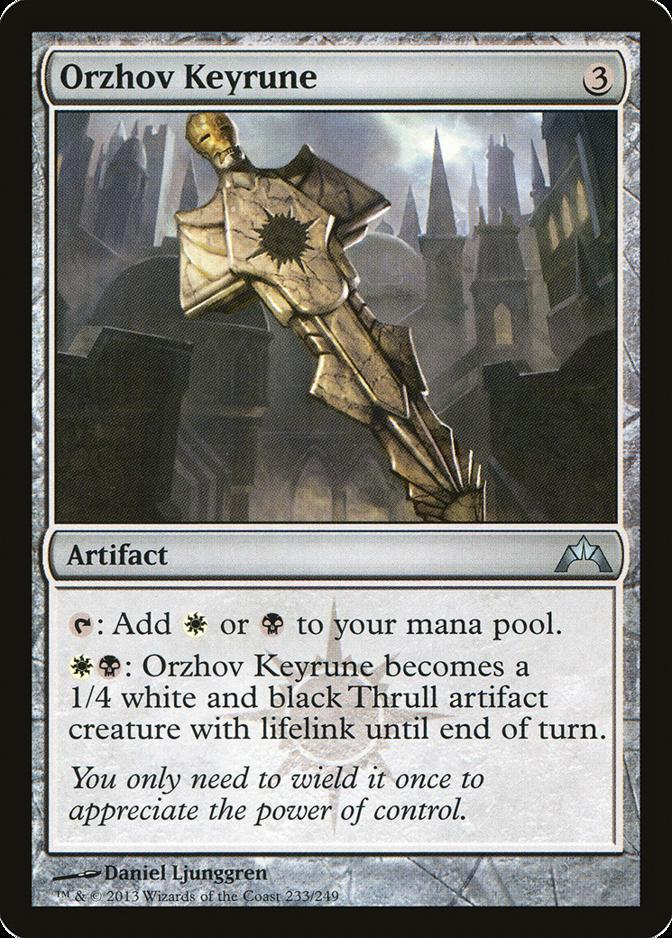 Orzhov Keyrune Gatecrash Gtc Price History This archetype doesn´t belong to the current standard go to. orzhov keyrune gatecrash gtc price