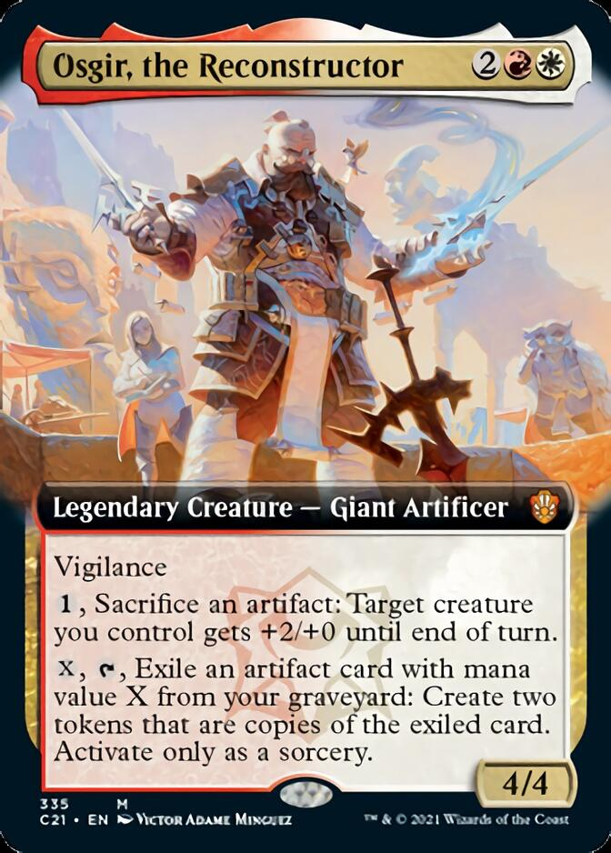 Osgir, the Reconstructor <extended> [C21]