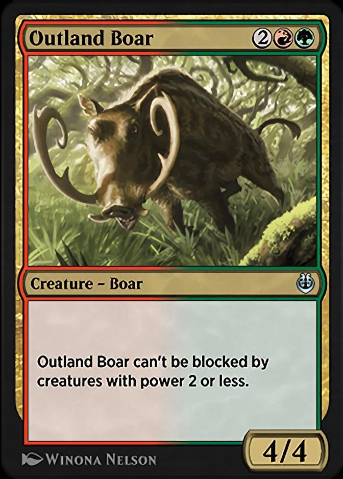 Outland Boar [KLR]