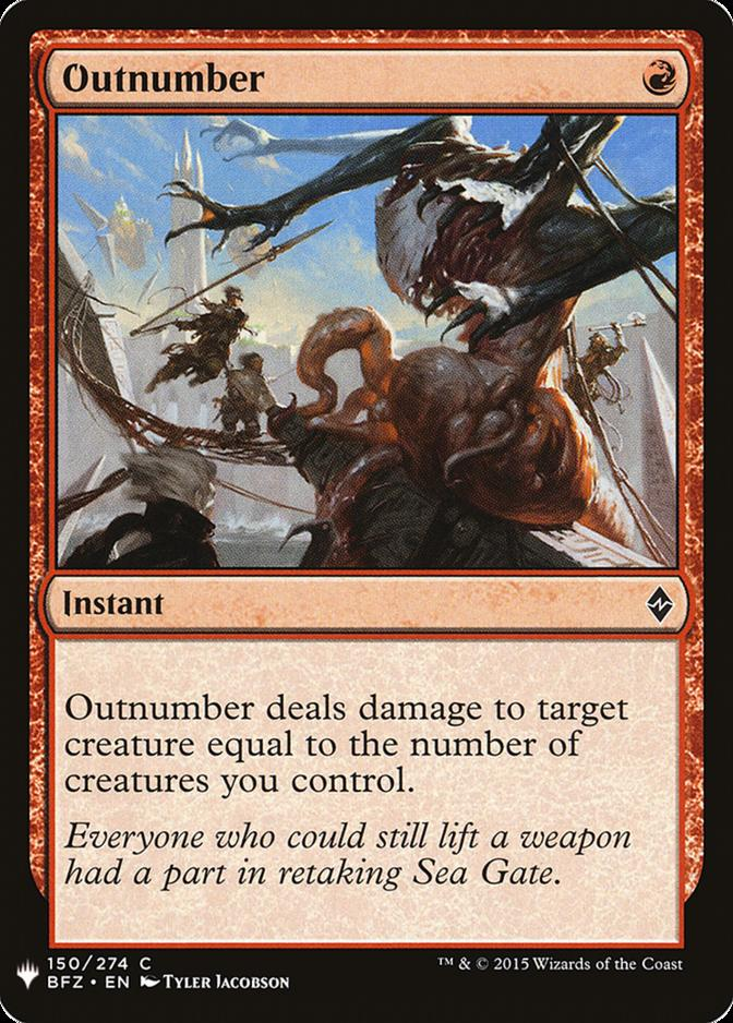Outnumber [MB1]
