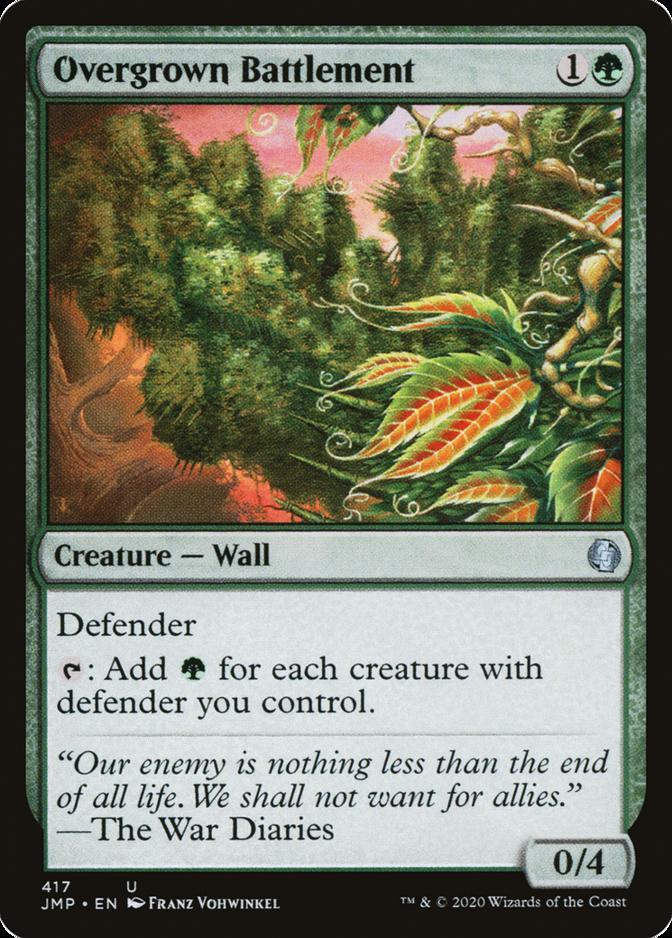 Overgrown Battlement [JMP]