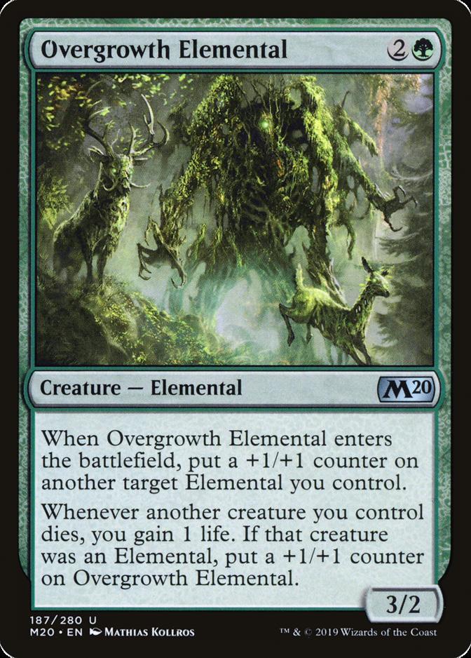 Overgrowth Elemental [M20]