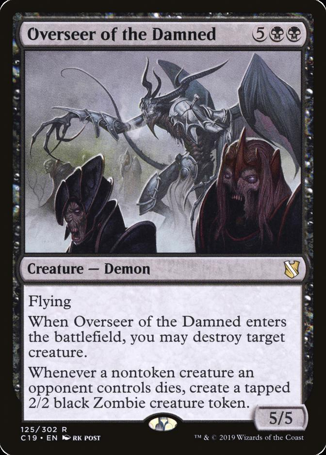Overseer of the Damned [C19]