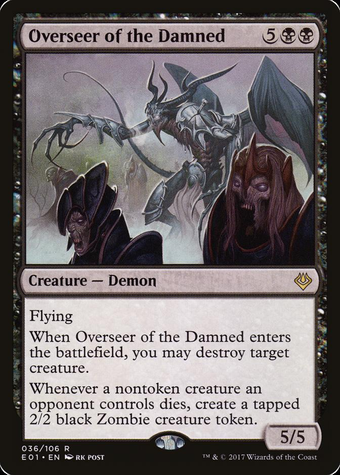 Overseer of the Damned [E01]
