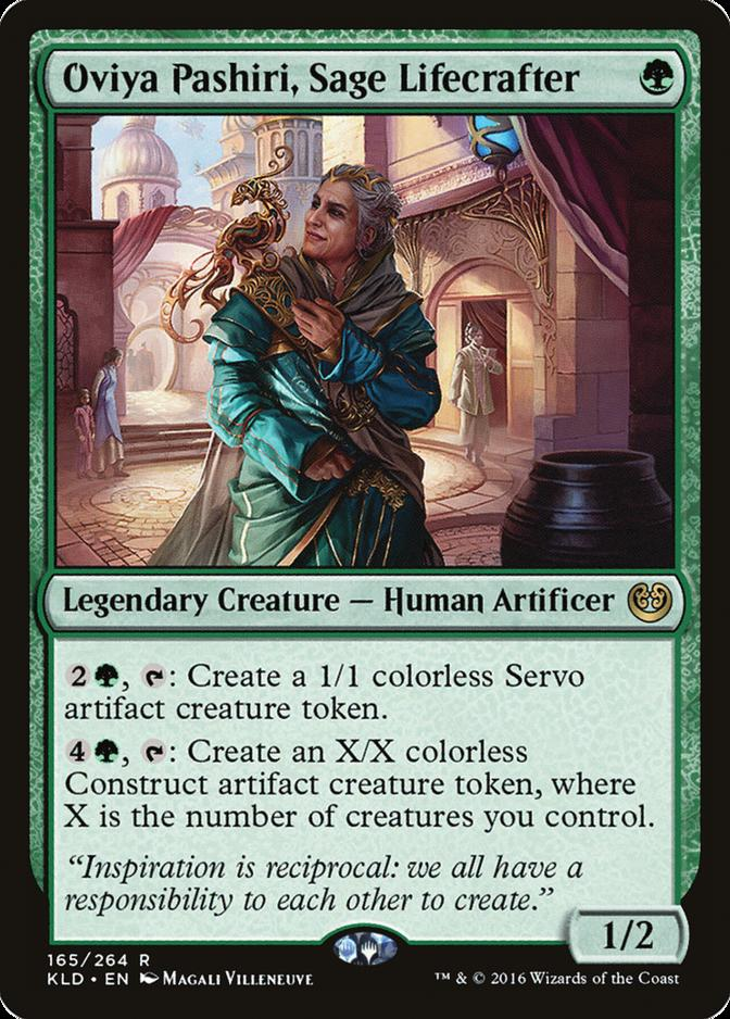 Oviya Pashiri, Sage Lifecrafter [KLD]