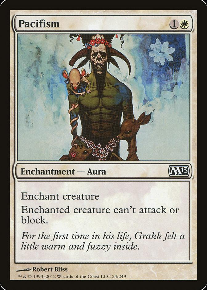 Pacifism [M13]