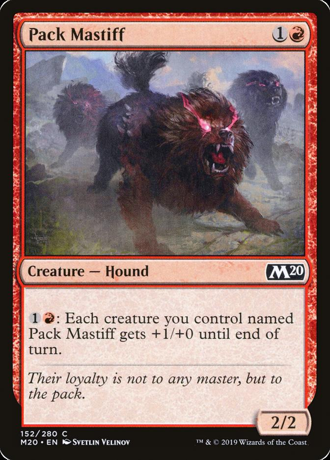 Pack Mastiff [M20]