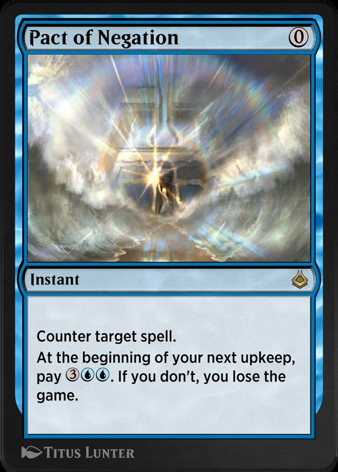Pact of Negation [AKR]