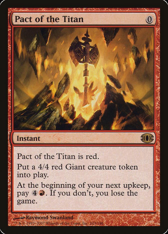 Pact of the titan-titan/'s pact-magic-mtg