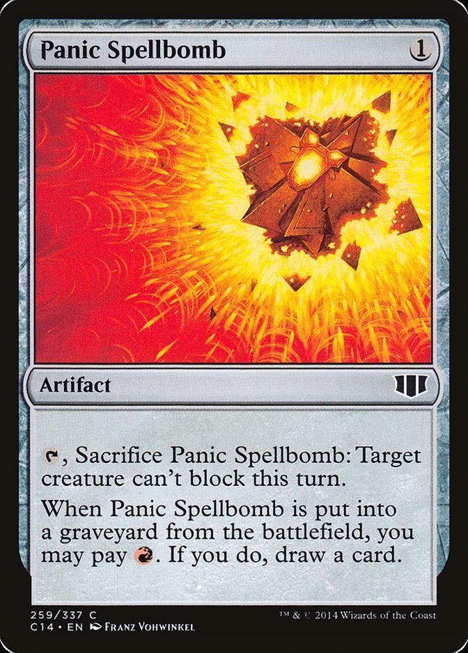 Panic Spellbomb [C14]