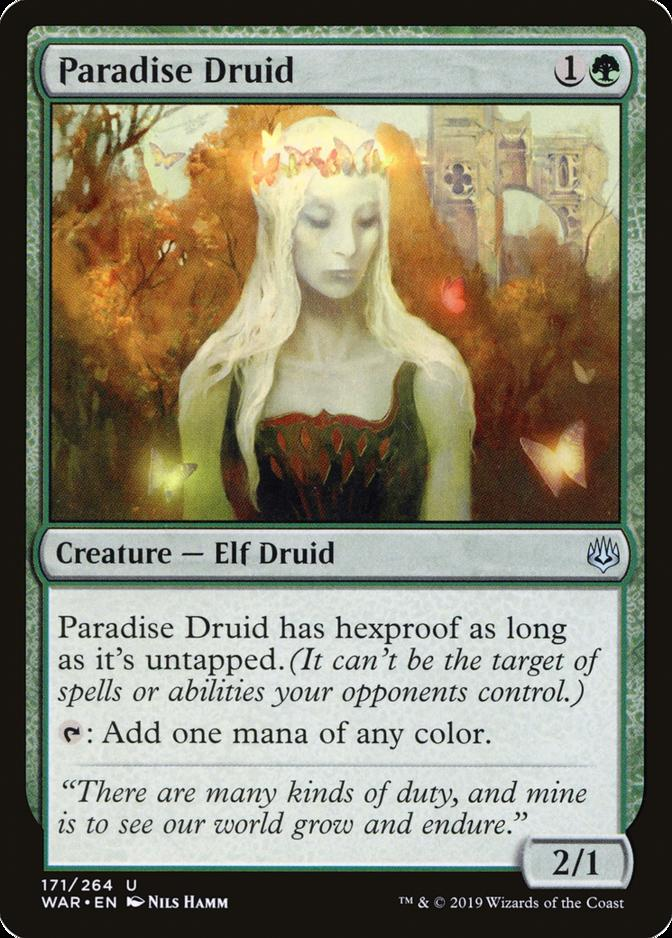 Paradise Druid [WAR] (F)
