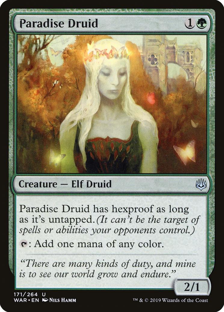 Paradise Druid [WAR]