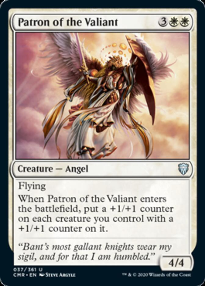 Patron of the Valiant [CMR]