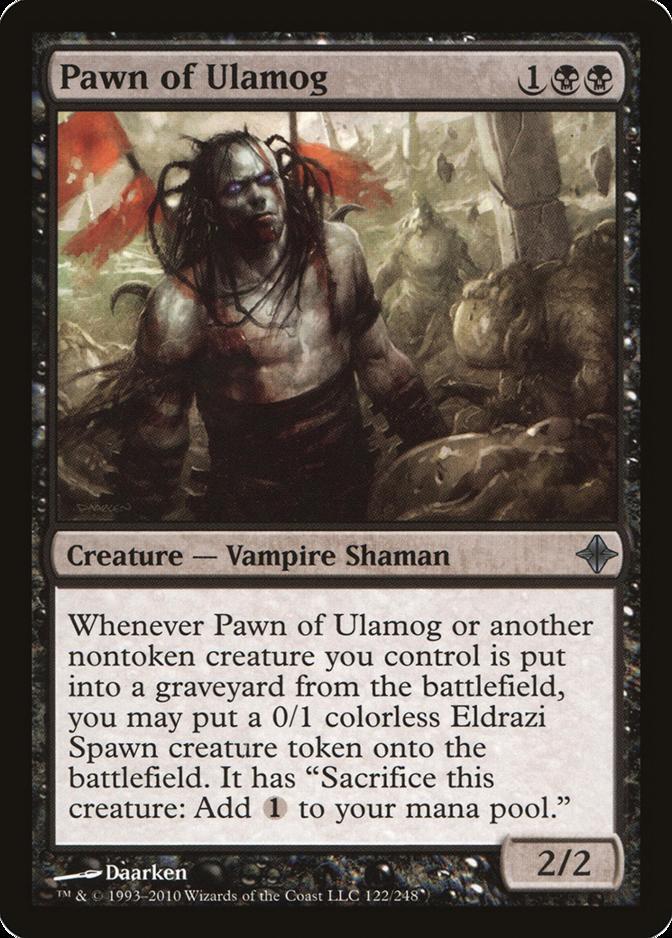 Pawn of Ulamog [ROE] (F)