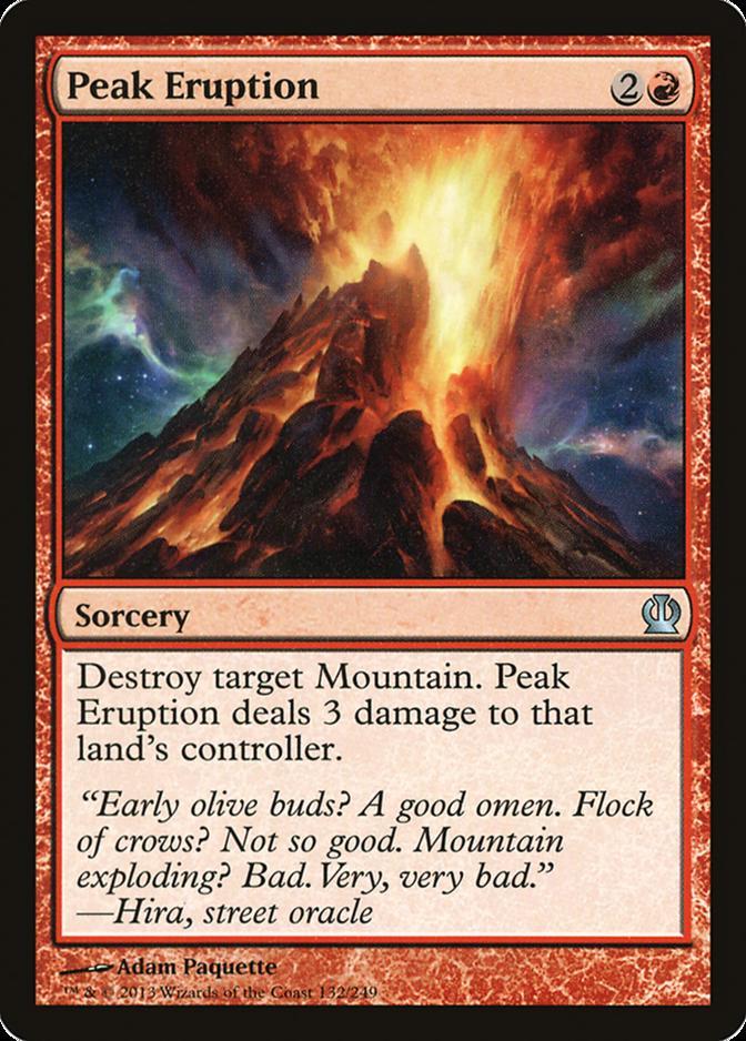 Peak Eruption [THS] (F)