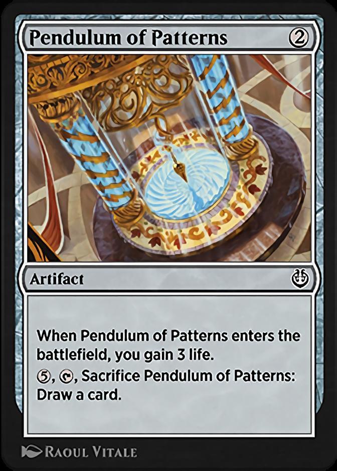 Pendulum of Patterns [KLR]